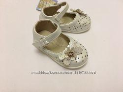 Туфли Шалунишка белые летние