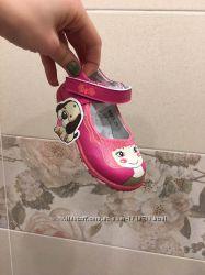 Туфли с девочкой розовые