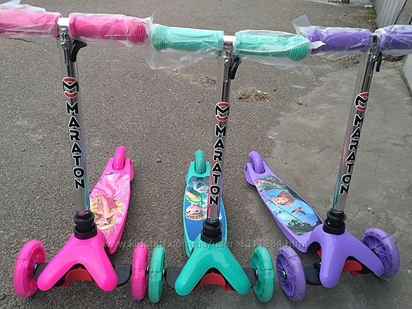Самокат детский Mini светящиеся колеса