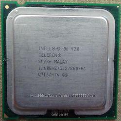 Продам процессор Celeron Processor 420 1. 60 GHz, 800 MHz, LGA775