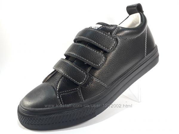 Спортивные туфли-кеды демисезонные р. 31-36 на липучках арт. 650-0