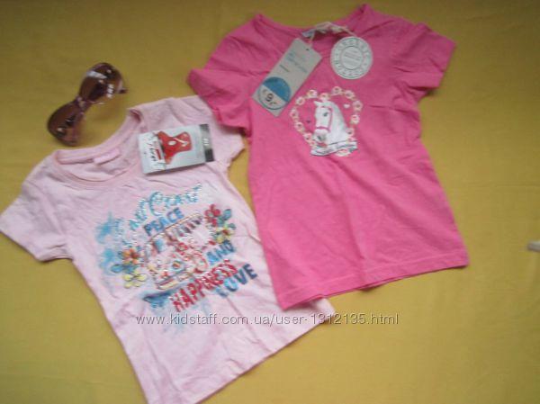 Новая хлопковая красивая футболка, р. 110, Okay, Бангладеш