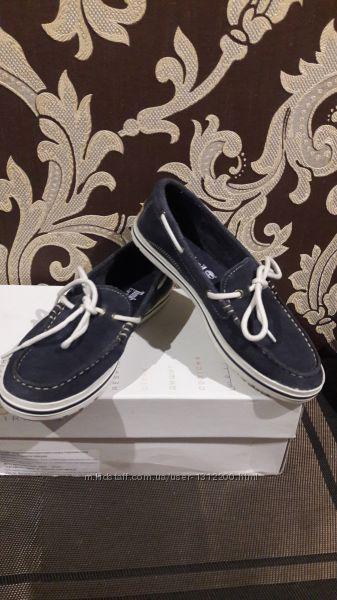 Туфли мокасины Timberland замш 23 см