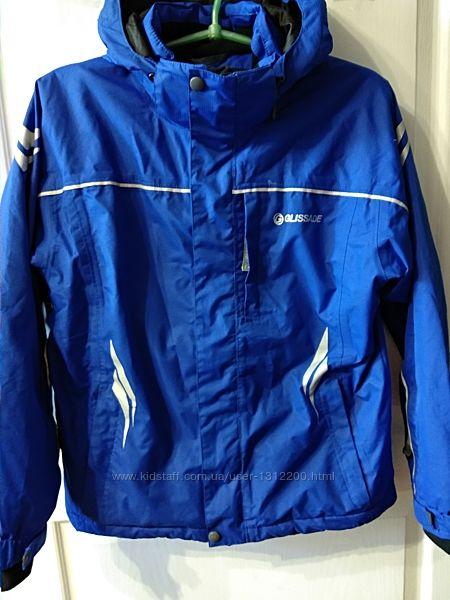 Зимняя термо курточка  GLISSADE на рост 146-152.