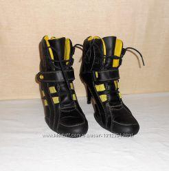 спортивные кожаные ботинки cникерсы Buffalo london 38р Возможен торг