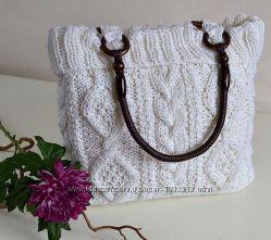 Вязанные сумочки