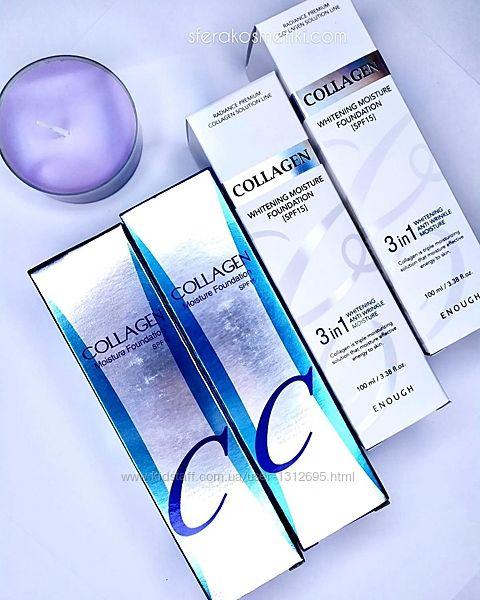 Конcилеры, тональный крем Missha BB-крем и Collagen Корея