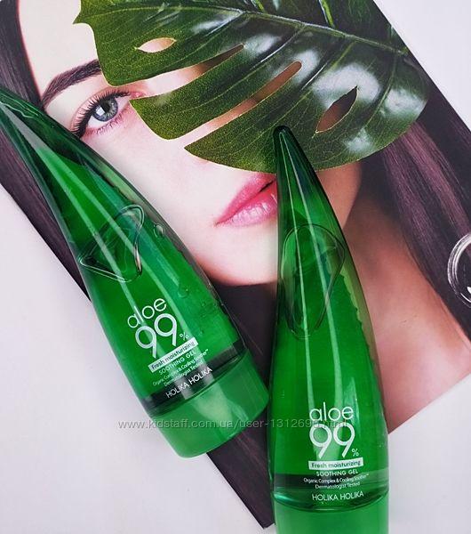 Успокаивающий гель с алоэ Holika Holika Aloe 99 Soothing Gel Корейская
