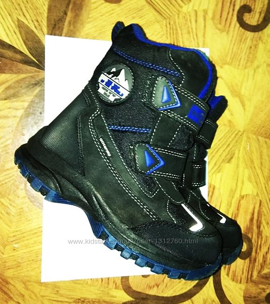 Термо ботинки , сапоги для мальчика B&G . Размер 30.