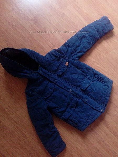 Курточка демисезонная, теплая. Парка