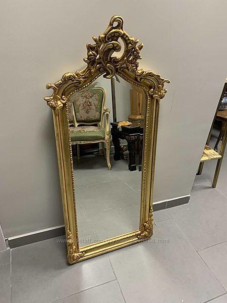 Зеркало антикварное из Бельгии барокко