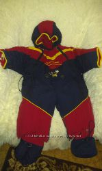 Продам зимний теплющий комбинезон на мальчика утеплитель-мех PALHARE