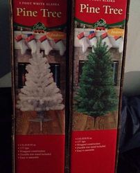 Знизила ціну ялинка біла новорічна США ёлка белая