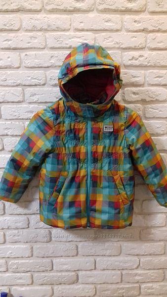 Крутая термокуртка деми-теплая зима Tom Tailor Германия. Рост 104-110.