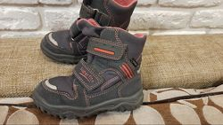 Крутые зимние ботинки Superfit Австрия, оригинал. Размер 24 ст. 15,5 см