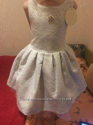 bc8432080aa Продам новое нарядное платье тм Zironka 122 см
