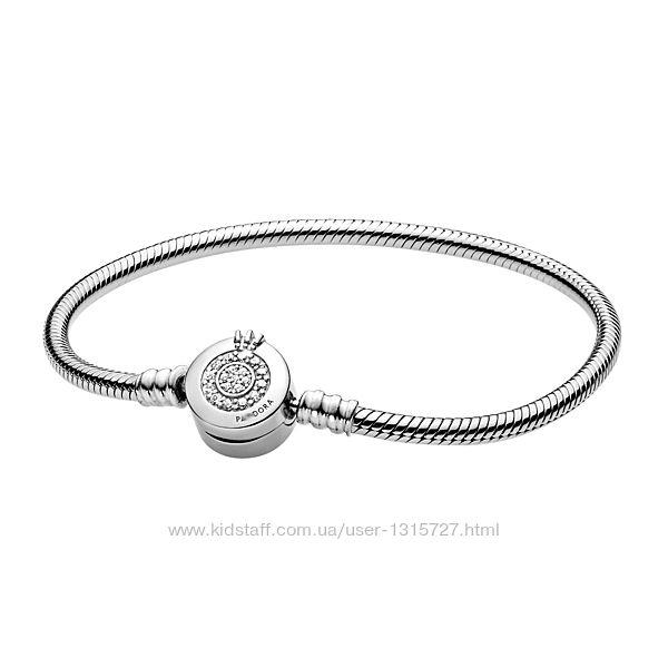 Серебряный браслет Логомания С7466