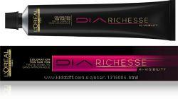 Окрашивание волос Dia Richesse. Dia Light от Loreal professionnel