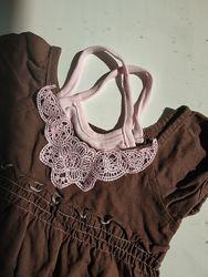 Красивое платье сарафан шорты на девочку