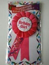 Birthday Girl Award Значок на День рождения для девочки, CANADA