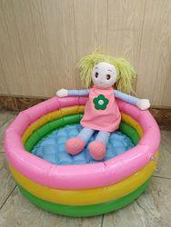 Детский надувной бассейн. Пересылка бесплатно.