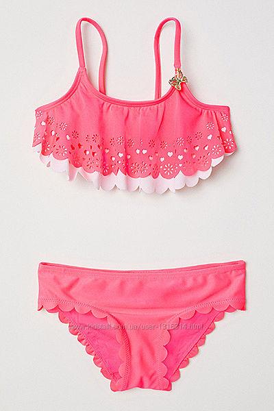Оригинальный купальник-бикини от бренда H&M разм. 110-116