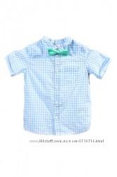 Оригинальная рубашка с бабочкой от бренда H&M разм. 80