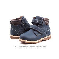 демисезонные ботинки на мальчика 385гр