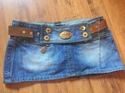 юбка джинсовая PRADA