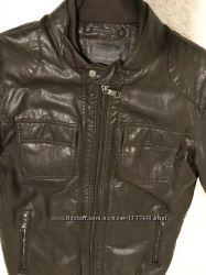 Курточка ZARA , мужская коричневая кожзам