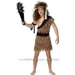 Карнавал Леопардовый костюм пещерного человека Бренд - Smiffys