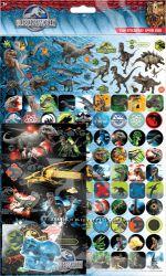 Наклейки с динозаврами, стикерпак 150 шт. качественные, многоразовые