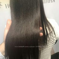 Кератинирование волос luxliss
