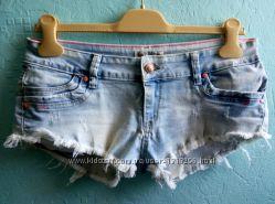 Стильные джинсовые шорты р. 29