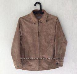 Кожаная курточка замшевая ben sherman