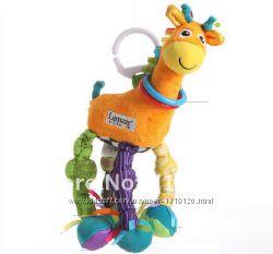 Lamaze. Подвесная игрушка - развивающий жирафик