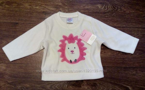 Флисовый свитер немецкой фирмы Impidimpi 62 68