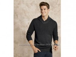 Стильный свитер пуловер вязаный р. евро 56-58 XL Livergy Германия