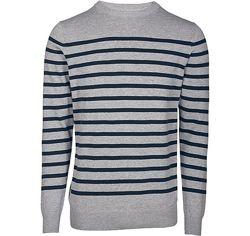 Хлопковый свитер пуловер джемпер р. евро 56-58 XL Livergy Германия в полоску