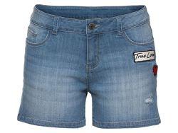 джинсовые шорты голубые 38 М 40 L евро esmara Германия