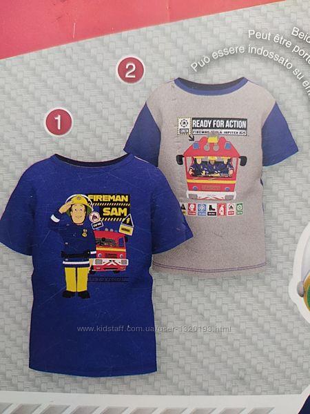 Хлопковая футболка для мальчика рост 122 128