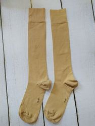 высокие носки гольфы 43-44 бежевые германия