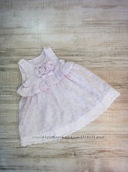 Платье белое LOTEX,  6-12 мес.