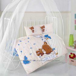 Детское постельное белье в кроватку Aran Clasy ранфорс