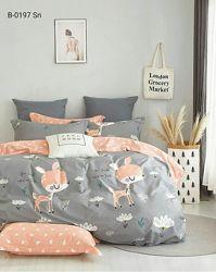 Комплект подросткового постельного белья Bella Villa сатин