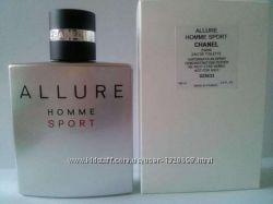 Chanel Allure Homme Sport 100ml тестер Оригинал