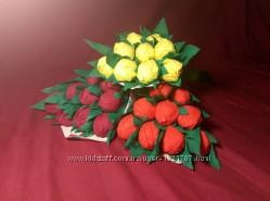 Букет подарок конфеты на день учителя
