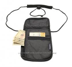 Дорожный кошелёк нагрудный, портмоне, чехол для телефона, органайзер.
