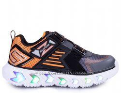 Новые кроссовки кеды Skechers с огоньками. Размеры  22-35