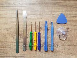 Набор инструментов для ремонта мобильных телефонов 9 в 1.